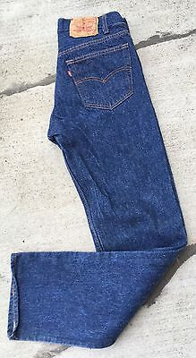 "Vintage Levi's Button Fly 501 Jeans 32 36 31"" Waist Made In USA"