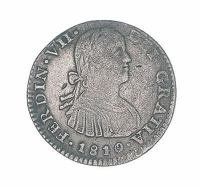 Mexico 1810 1 Real, Ferdinand VII SPANISH COLONIAL