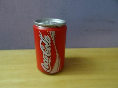 coca cola vtg can miniature plastic not real can ! Advertising Collectibles