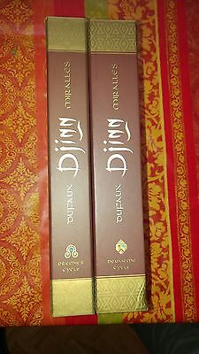2 Coffrets Djinn- 1er Cycle et 2eme Cycle -9 Volumes-