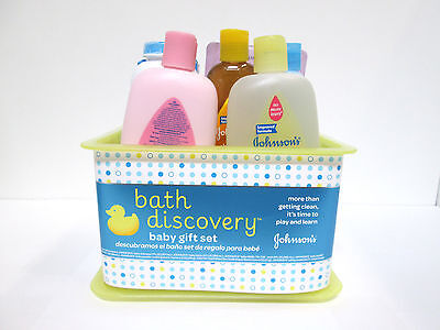 Johnson's Bath Discovery Baby Gift Set Basket [MB-A-J]