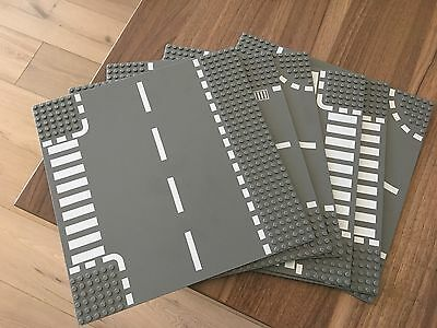 Lego Accessories - Road Tracks x 6