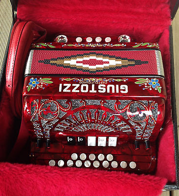 Giustuzzi Diatonic Organetto Accordion Folk instrument