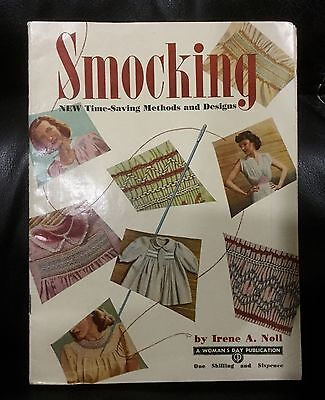 Vintage Smocking by Irene A Noll, Time Saving Methods and Designs