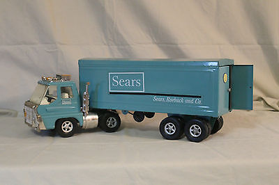 NYLINT Sears Roebuck Toy Truck Semi (collectible advertising piece)