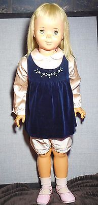 "Vintage Linda Mccall Doll 1959 Stamped On Back Neck Approx. 35"" Tall Rare & Htf"