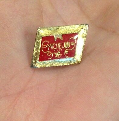 Rare! Vtg 1980 Anheuser Busch Michelob Beer Brew Advertising Hat Tie Pin