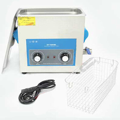 Sc  6L Analog Ultrasonic Cleaner With Heating. Full Stainless Steel Tank And Hou