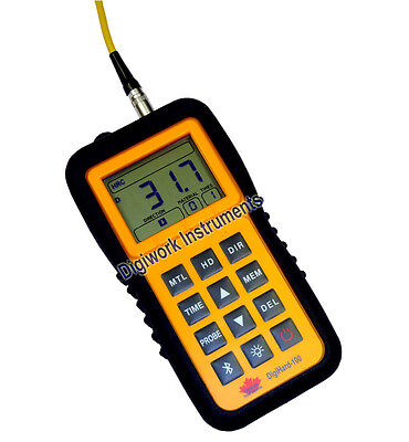*UNIT + PROBE ONLY* Digiwork DigiHard-100 Portable Leeb Hardness Tester NO BLOCK