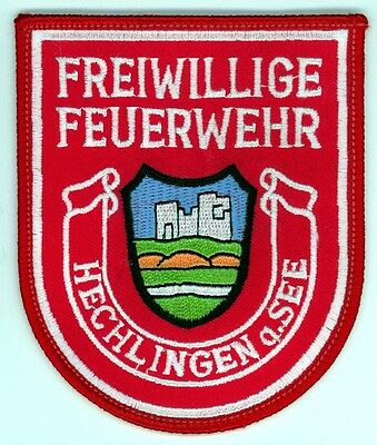 Hechlingen a.See Freiwillige Feuerwehr Fire Department Uniform Patch Germany