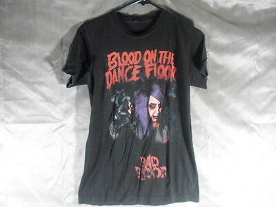 Blood on the Dance Floor Dahvie Vanity Tour Tee Shirt Bad Blood Size Small S (t2