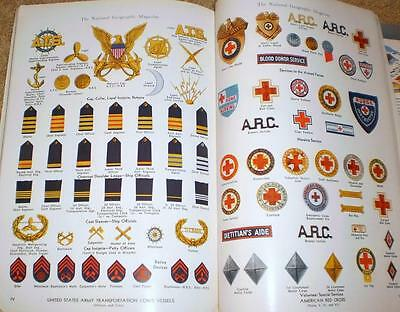 WWII National Geographic Magazine - Insignia Issue