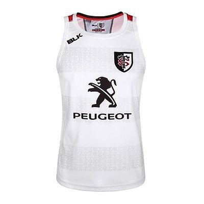 BLK Sport Toulouse Rugby Training Singlet 16/17 - White
