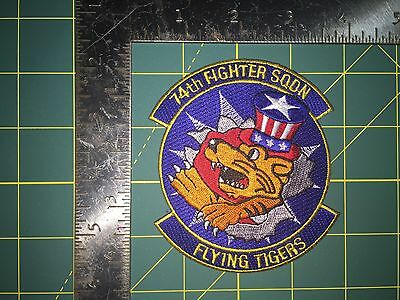 A-10 Thunderbolt II Patch. 74th Fighter Squadron. Flying Tigers.