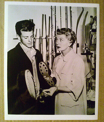 8x10 Photo~ Ozzie & Harriet Show ~Ricky Nelson with mother -?