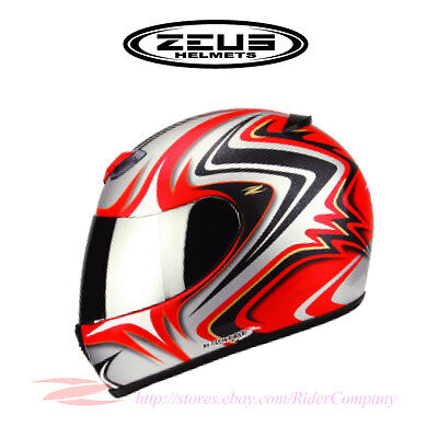 ZEUS ZS-1100C Motorcycle Helmet Full Face Hi Fiber DOT Safety Approved
