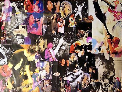 Earlys 90s Grunge Collage Nirvana, Pearl Jam, Alice in Chains, Soundgarden, Hole
