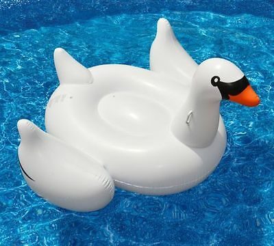 Swan Float for Swimming Pools, 150cm,Summer Inflatable Swimming Pool