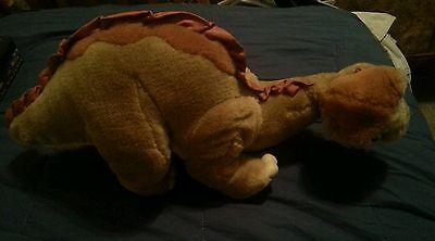 Vintage 1988 The Land Before Time LITTLE FOOT Plush Toy Dino Dinosaur Don Bluth