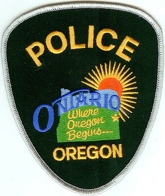Ontario Police OREGON patch NEW