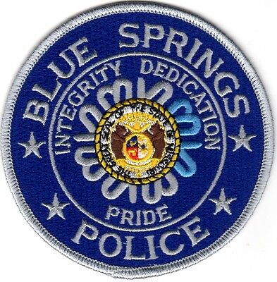 Blue Springs Police Patch Missouri MO NEW!!