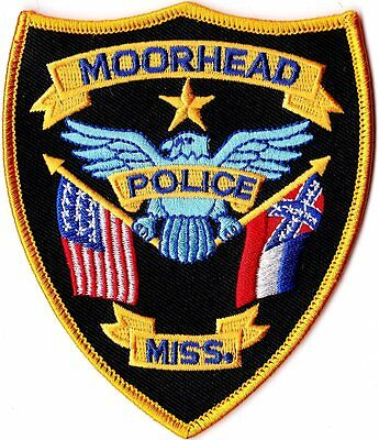 Moorhead Police Patch Mississippi MS NEW!!