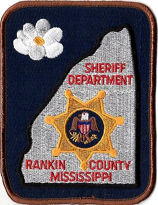 Rankin County Sheriffs Dept. Police Patch Mississippi MS NEW!!