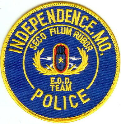 Independence Police Patch Missouri MO NEW!!