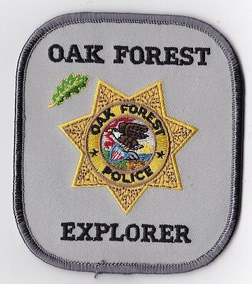 Oak Forest Explorer Police Patch Illinois IL NEW!!