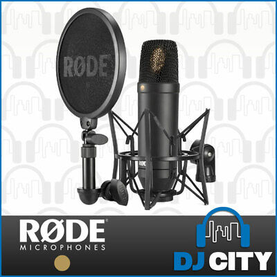 Rode NT1 Kit Professional Studio Condenser Microphone w/ SMR Shock Mount
