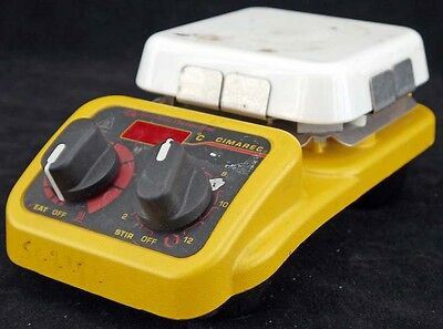 "Barnstead Thermolyne SP131015 Cimarec Laboratory 4x4"" Hotplate Magnetic Stirrer"