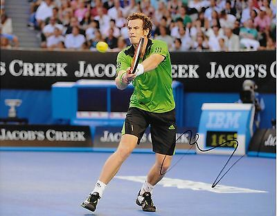 Autographed Andy Murray ATP Tennis 8x10 Photo