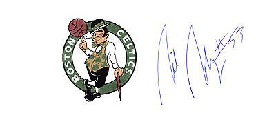 Rick Robey Boston Celtics NBA Champ SIGNED 3x5 CARD AUTOGRAPHED