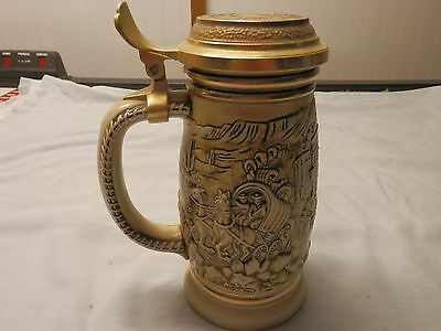 Vintage 1987 Handcrafted Collectible Stein, The Gold Rush