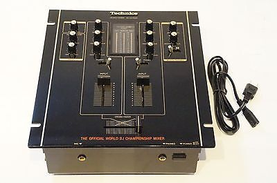 Technics SH-DJ1200 K BLACK World Standard DJ Mixer w/ Spare Faders