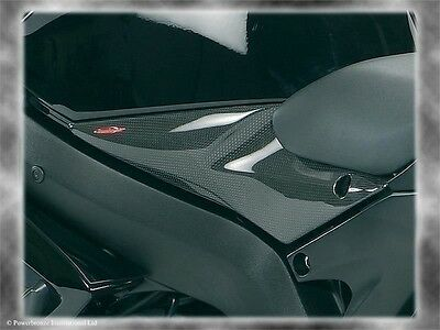 Suzuki GSXR600 & 750  2006-2007 Side Panel Carbon Fibre by Powerbronze  pair