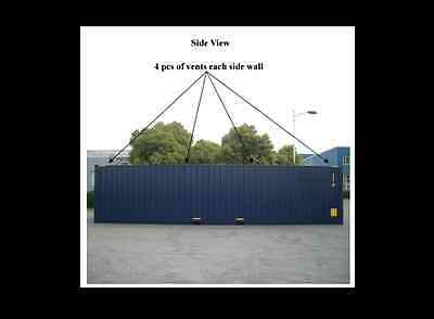 NEW BUILD 40ft High Cube Shipping Container Ex Brisbane