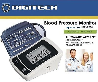 NEW Automatic Arm Type PRO Blood Pressure Monitor with Cuff