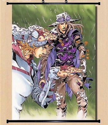 "8""*12""Home Decor Japanese JoJo's Bizarre Adventure Anime Wall Poster Scroll Jo14"