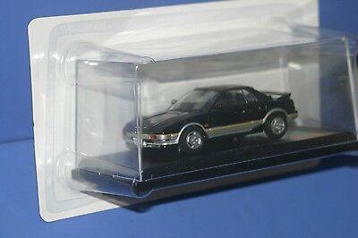 1984 TOYOTA MR2 AW11 Mk1 1/43 Black and Silver NOREV JAPAN