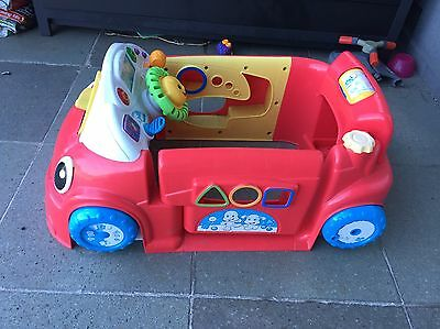 Fischer Price Laugh And Learn Car