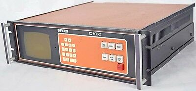 Inficon Leybold 013-093 IC 6000 Thin-Film Deposition Controller +7 Modules