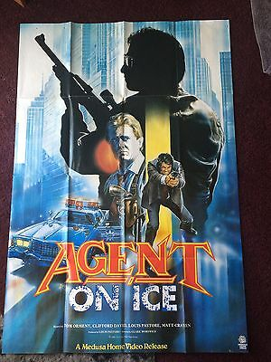 Agent on Ice   -  1986 movie poster