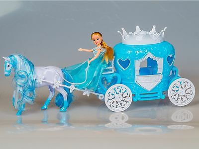 Dolls Wagon with horse and Princess Wedding
