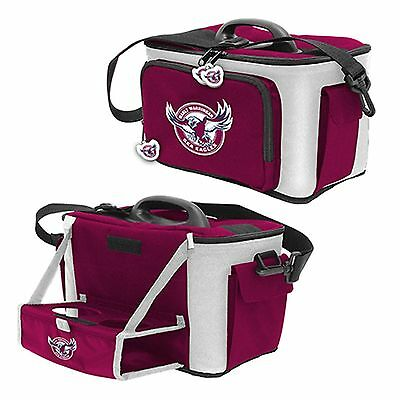 MANLY SEA EAGLES  Rugby League Licensed Products - Cooler bag with drink holder