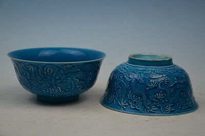 beautiful hand-painted  chinese porcelain Dragon Bowl