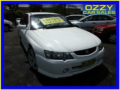 2003 Holden Commodore VY SS White Automatic 4sp A Sedan