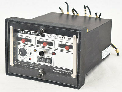 ABB Asea Brown Boveri 51Y Circuit Shield Very Inverse Time Overcurrent Relay