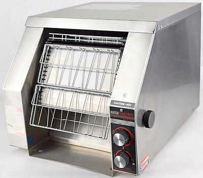 HATCO Toast-Rite TRH-50 Commercial Cooking Conveyor 120V 2700W 22.5A Toaster