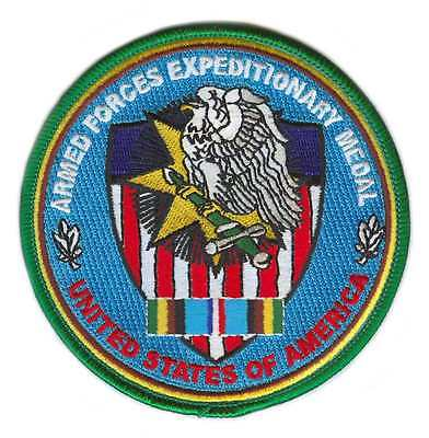 Armed Forces Expeditionary Service Patch United States Of America Patch